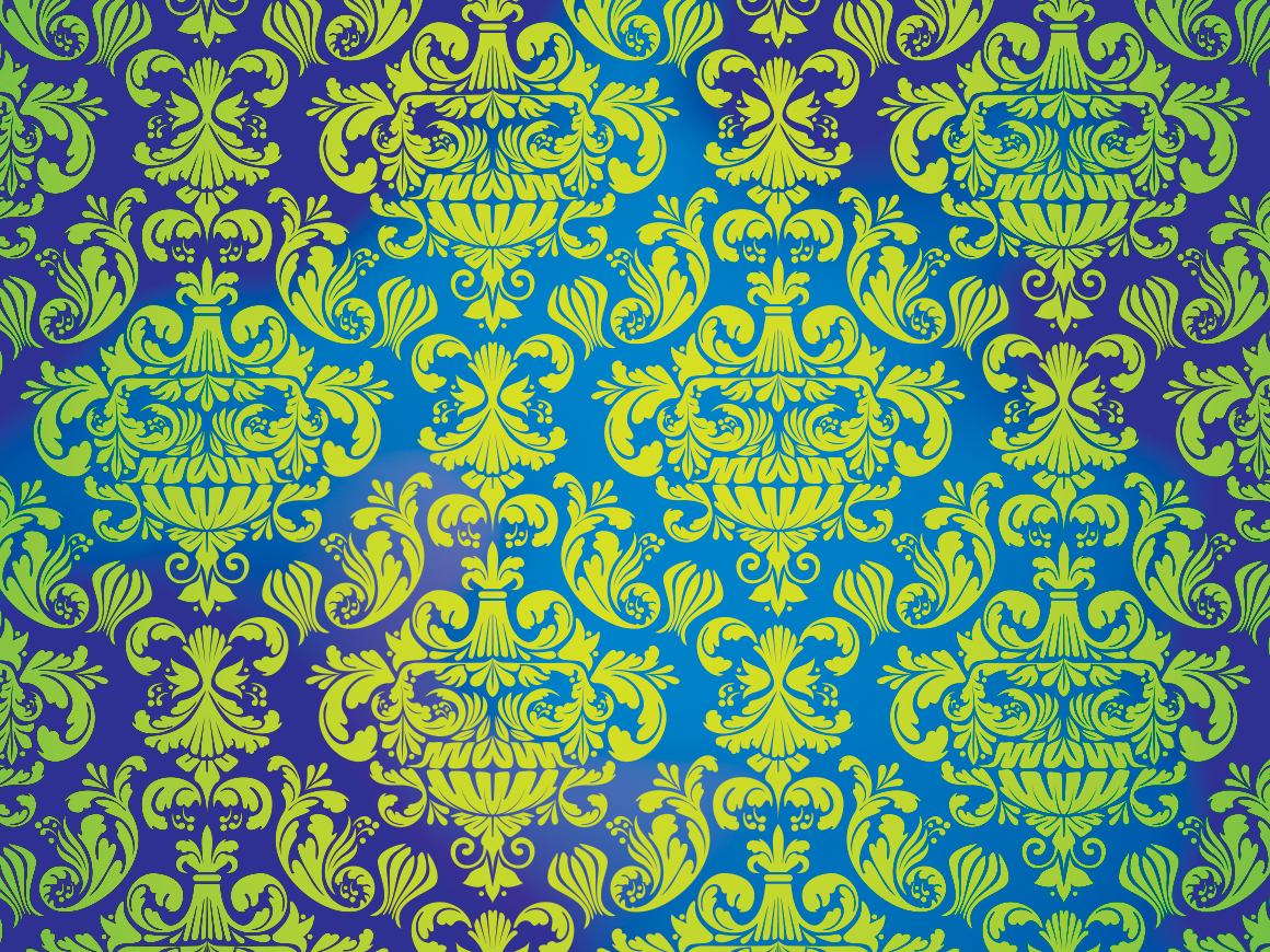 Cassette Punk Damask Pattern