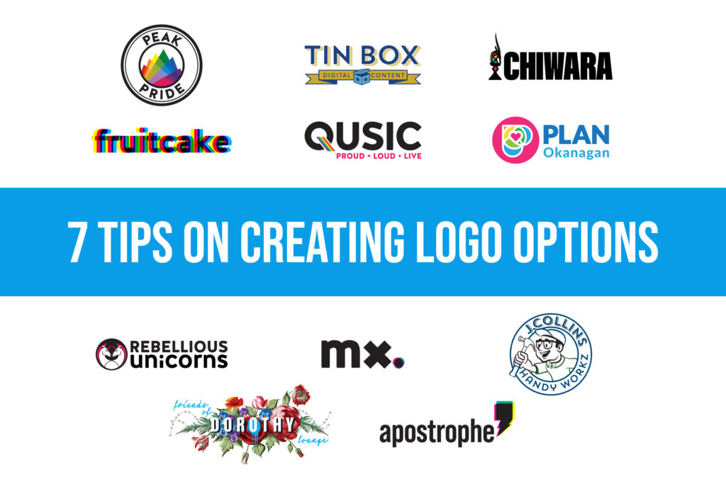 7Tips On Creating Logo Options
